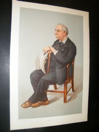 Vanity Fair Print 1902 Charles Santley, Music